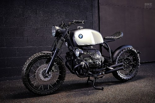 Euro style, down under: Ellaspede's BMW R100R