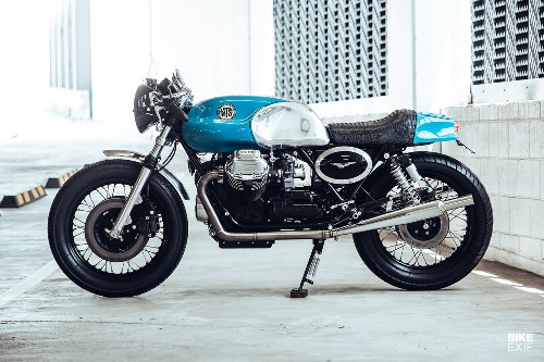 Westlake Tagand Special: A Guzzi 850 T3 from Deus