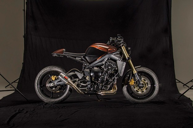 Not Your Usual Rental: A custom Street Triple for hire