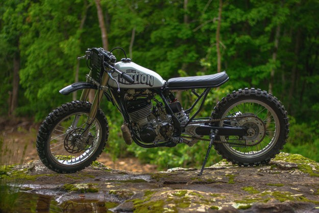 Hellion: An Off-The-Wall Yamaha WR500 | Bike EXIF