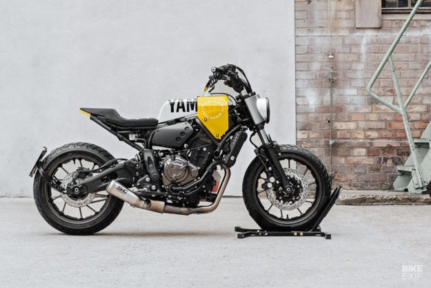 Off brief, on trend: A Yard Built XSR700 from Hookie