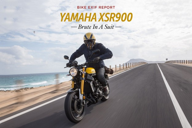 Brute in a Suit: Yamaha XSR900 Review