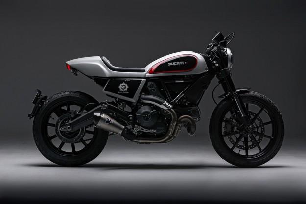 Skunk Machine: A Cafe Twist For The Ducati Scrambler