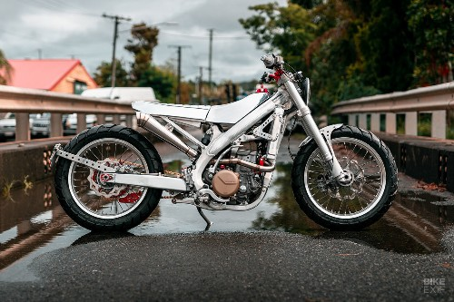 Silver Surfer: A Honda street tracker from Black Cycles