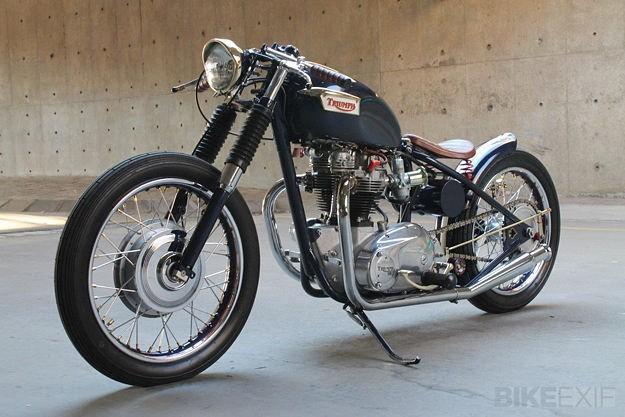 1969 Triumph Bonneville bobber