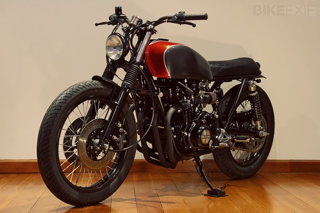 Suzuki GS550 by Stray Dog Moto