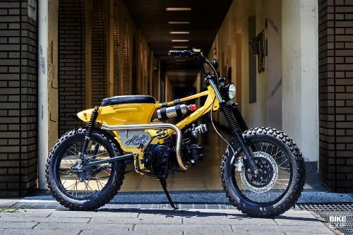 Trick: A BMX-style SYM from Hide Work Custom | Bike EXIF