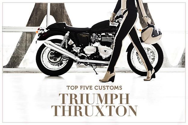 Top 5 Triumph Thruxtons