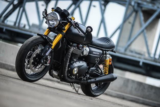 Darkster: K-Speed's Custom Triumph Thruxton R
