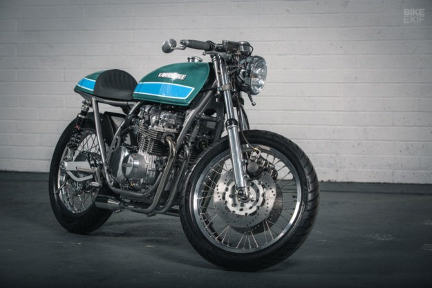 Forged From Passion: A blacksmith's take on the Z650   Bike EXIF