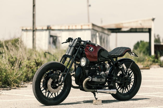 A different take on the custom BMW airhead