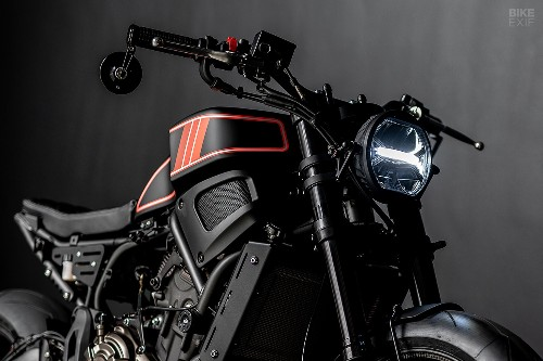 The Enforcer: an XSR700 from Ironwood Motorcycles
