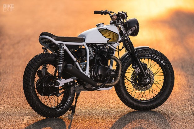 The Backburner: Federal's Four-Year Honda CB360T Project