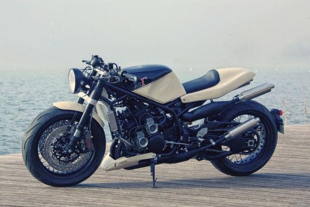 Getting Personal: Ludovic Lazareth's Suzuki RG400