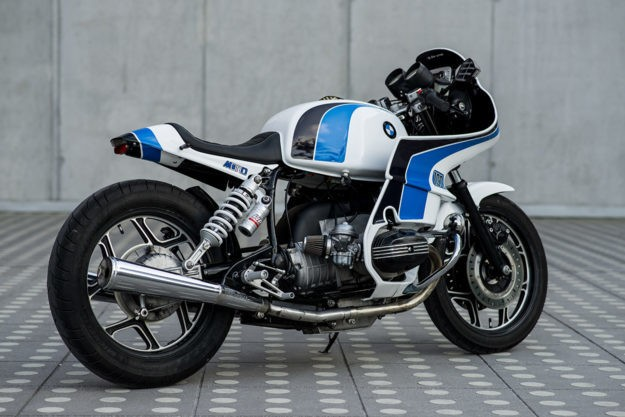 The 80s are back: Luka Cimolini's BMW R100 RS