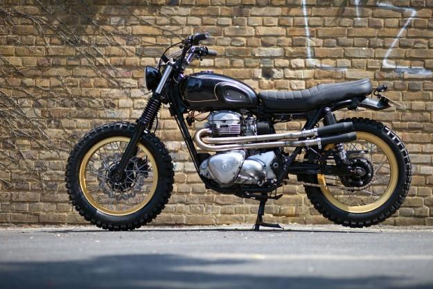 A bit of rough: Urban Rider's Kawasaki W650