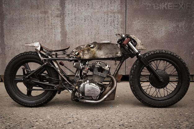 Honda CB125 by Valen Zhou   Bike EXIF