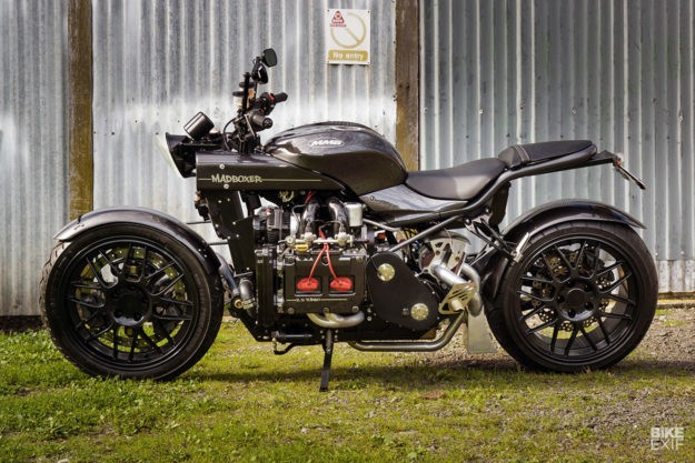 Madboxer: A motorcycle with a Subaru WRX car engine
