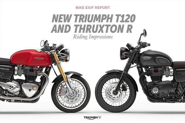 Review: Triumph Bonneville T120 and Thruxton R