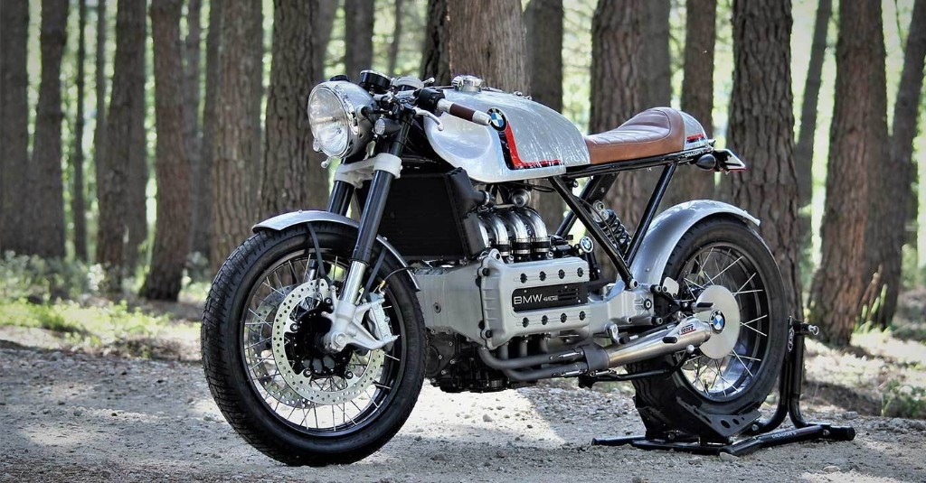 Lead sled: A BMW K1100 LT cafe from Spain   Bike EXIF