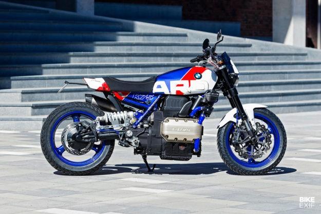 Arresting: Renard's ex-police BMW K75 RT   Bike EXIF