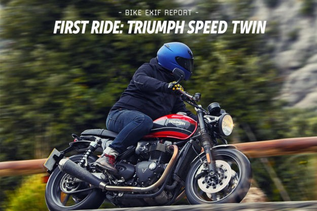 Review: The 2019 Triumph Speed Twin