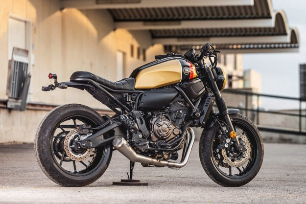 Gold Standard: An upgraded XSR700 from Macco Motors | Bike EXIF