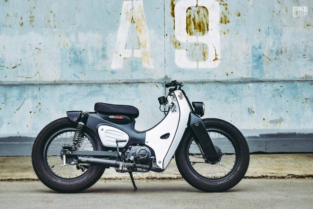 Honda launches the 2018 Super Cub with a K-Speed custom