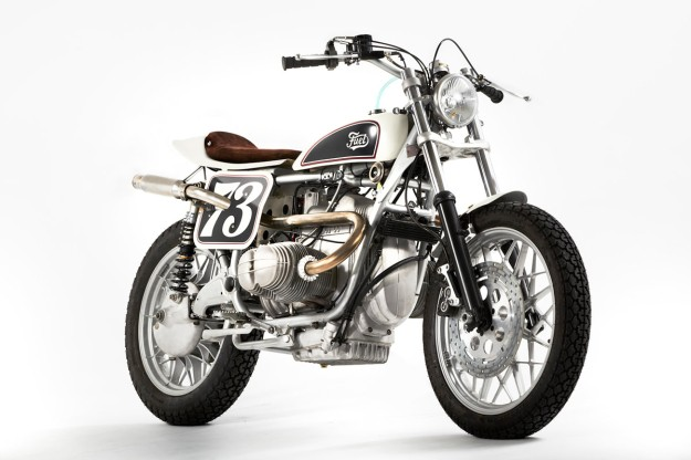 Turning the BMW R100 RS into a tracker