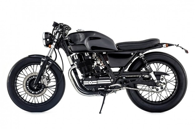 Honda GB250 by Ellaspede