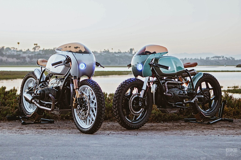 Boxer Twins: A pair of R100 café racers from Upcycle