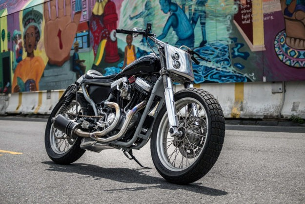 Brooklyn Brawler: An 883 Sportster with a double life