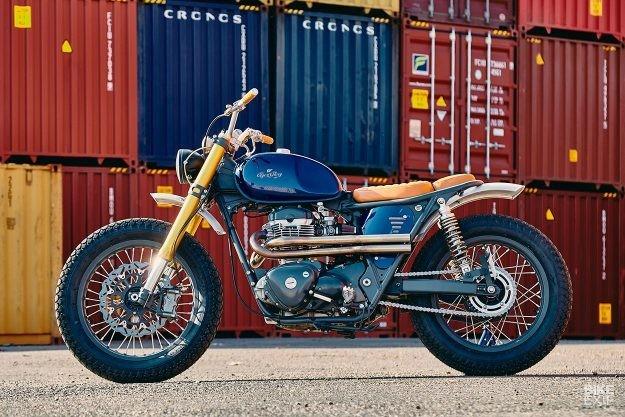 French dressing: A chic Kawasaki W650 from Lyon