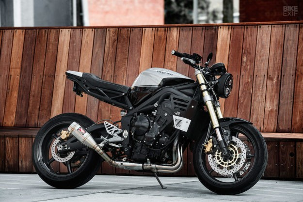 A sharp new suit for the Triumph Street Triple
