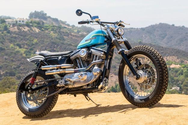 Hollywood Harley: A Sportster 883 Dirt Tracker