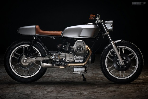 Guzzi V50 Monza by Revival Cycles