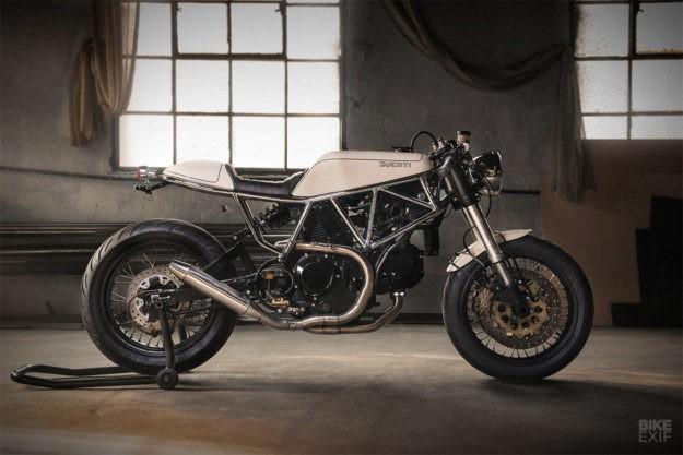 Caffè Crema: Ad Hoc's luscious Ducati 900 SS
