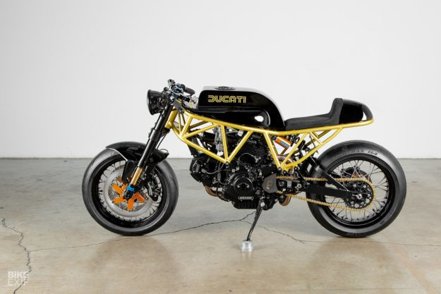 Caffè Nero: Lossa Engineering's Ducati 900SS