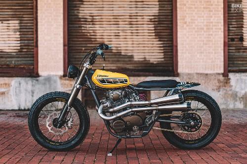 Yamaha XS650 'Techno Tracker' by Gunn Design