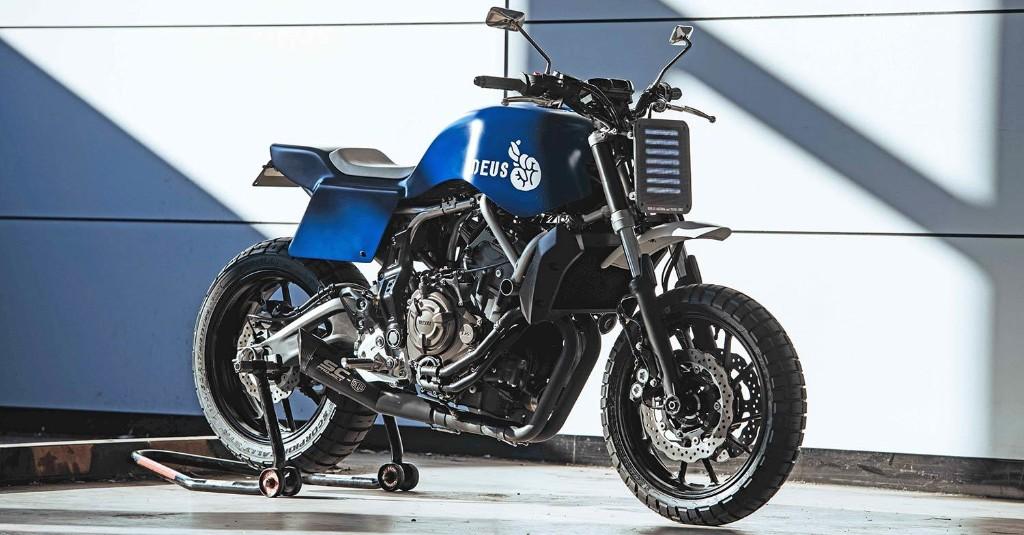 'Bombshell': A sharp new kit for the Yamaha MT07