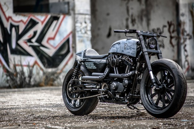 Pixel Perfect: Rough Crafts' Harley Forty-Eight