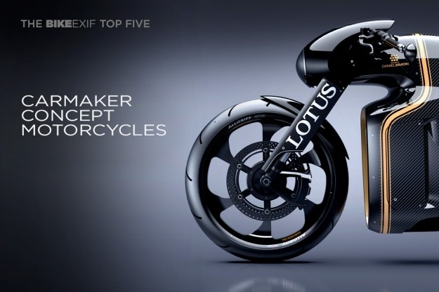 Top 5 Concept Motorcycles