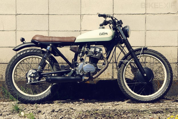 Young Guns Go For It: Honda CG125 by Cafe Racer Dreams