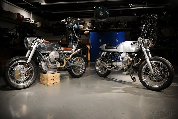 Moto Guzzis by Revival Cycles