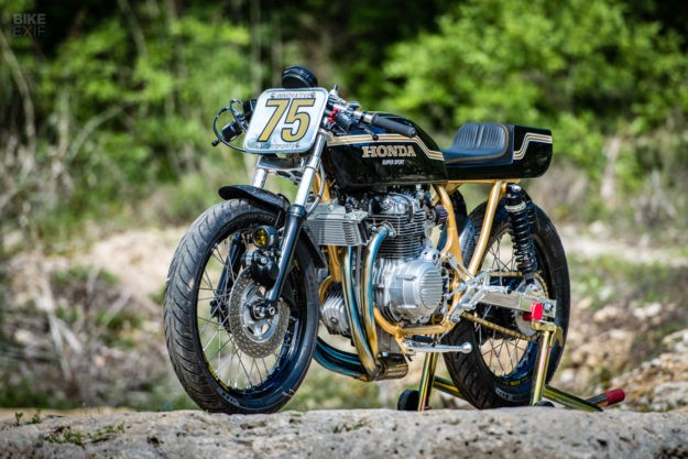 Z1 Beater! A Honda CB400F Tuned for the Track   Bike EXIF