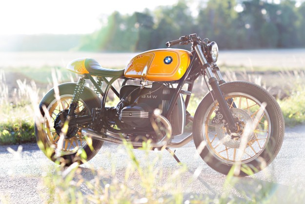 Girl Power: a BMW racer from Unique Custom Cycles