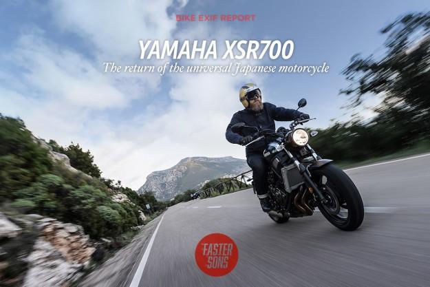 Yamaha XSR700: Return of the UJM?