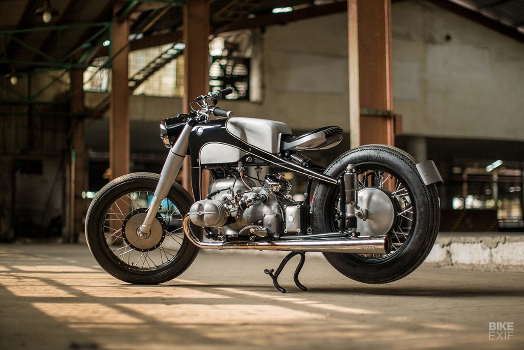 Reviving an icon: A BMW R51 restomod from Thrive