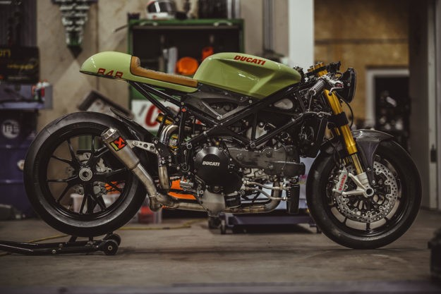 More Racer Than Cafe: NCT's stunning Ducati 848 Evo