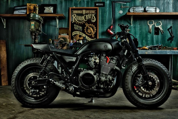 Guerilla Four: An XJR 1300 from Rough Crafts